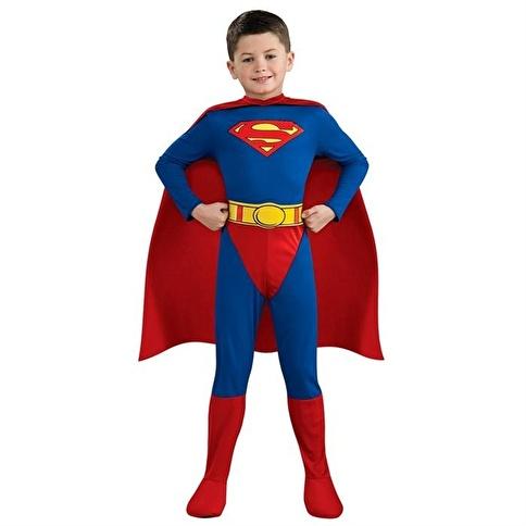 Rubies Superman Çocuk Kostüm 12-14 Yaş Renkli
